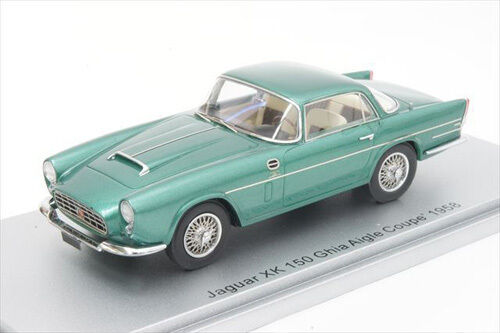 Kess models 1 43 ke43029000 jaguar xk 150 Ghia Aigle Coupe 1958 green metallic