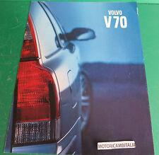 VOLVO V70 STATION WAGON AUTO CAR PUBBLICITA DEPLIANT BROCHURE CATALOG