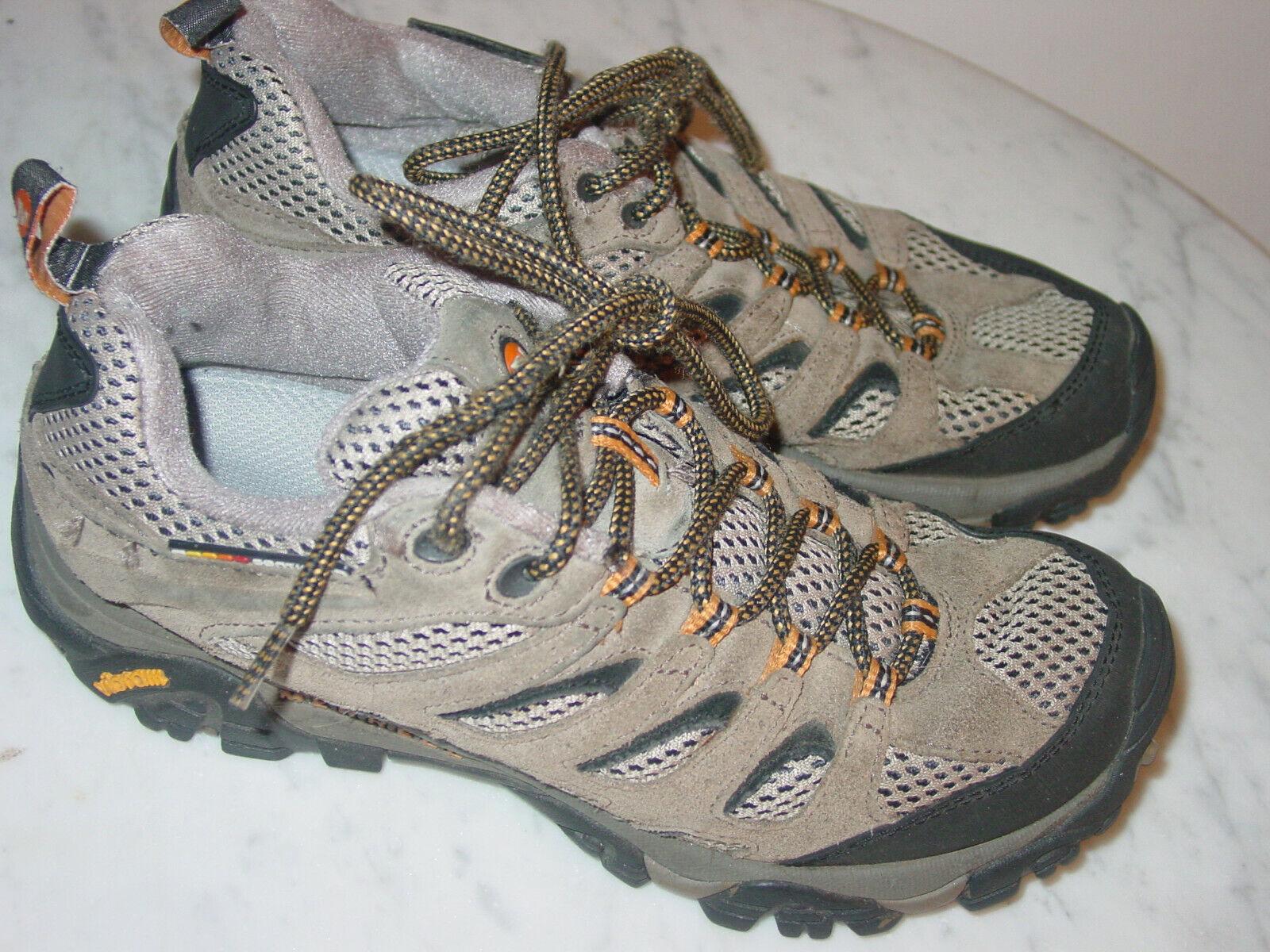 Merrell Moab Ventilator Nogal J86595 Trail Hiking tamaño del zapato 7