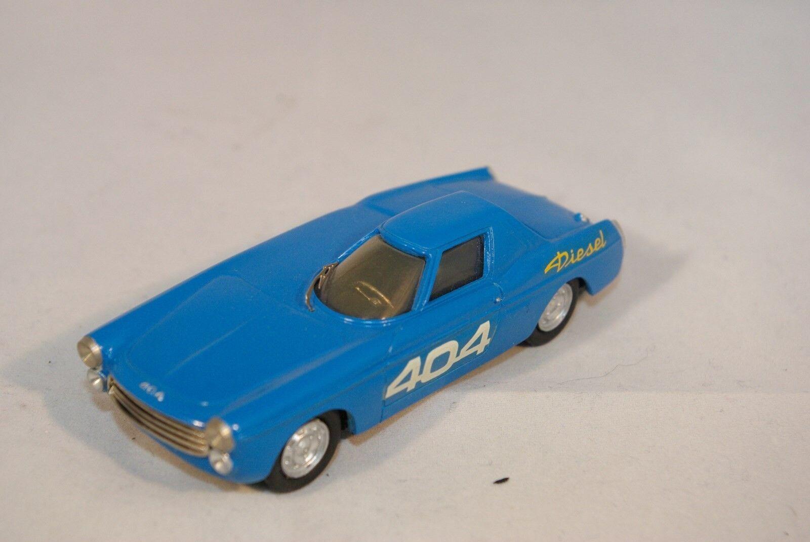 RETRO BOLIDE BOLIDE BOLIDE RETRO-BOLIDE 3 PEUGEOT 404 DIESEL RECORD CAR 1965 MINT RARE SELTEN  0159fa