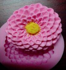 Silikonform Tortendeko Gießform mold Fondant Fimo Schokolade Blumen Blatt mould