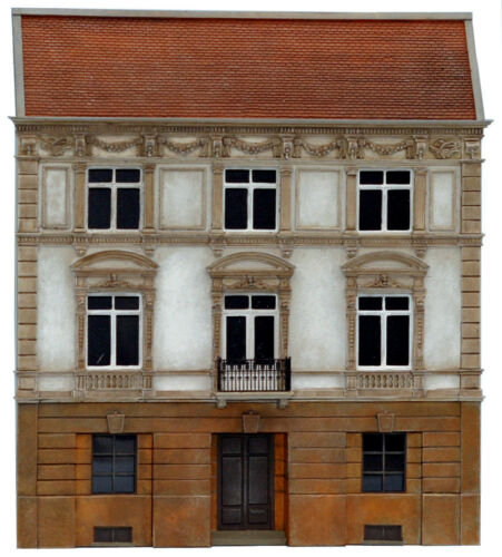 Artitec 10.261 Fassade Notariat H0 1:87 Bausatz unbemalt Resin