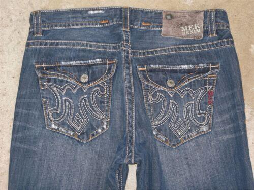 Angeles X Hommes Délavé Mek Droite 33 36 Slim Jeans Sz Los Coupe 8SxZwq