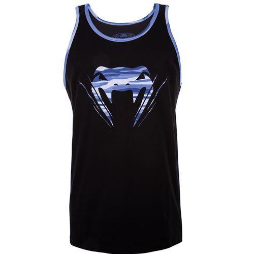 Venum Wave Camo Tank Top Black//Blue