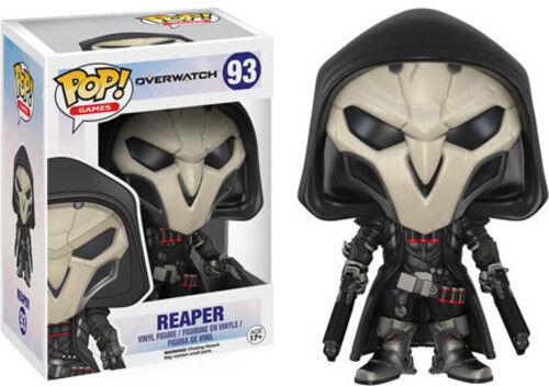 Overwatch - Reaper - Funko Pop! Games (2016, Toy NUEVO)