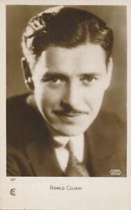 Ronald Colman - English Born Actor
