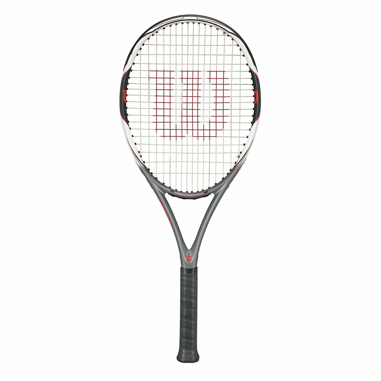 Wilson Drone equipo 105  tenis raqueta, Encordada, Grip 4 3 8  barato y de moda