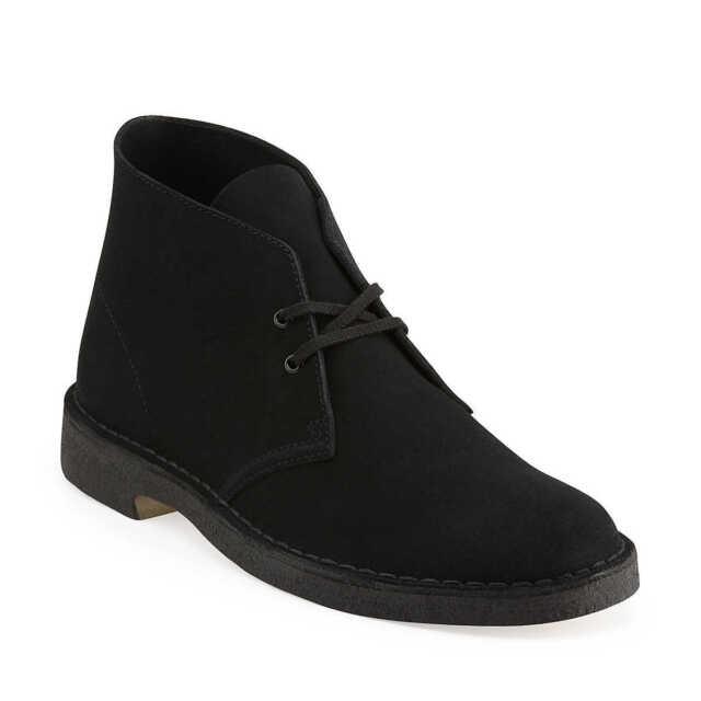 88a125e401 Clarks Originals Black Suede Men's Desert Boot 07882 11.5