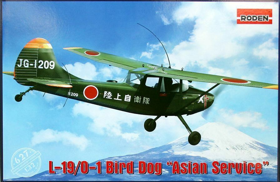 Roden 1 32 Cessna L-19 O-1 O-1 O-1 Bird Dog  Asian Service    627 863