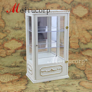 Dollhouse-1-12-Scale-Miniature-furniture-Handmade-store-Display-cabint-6