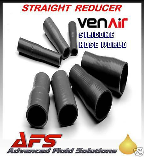 22mm - 19mm BLACK SILICONE HOSE REDUCER VENAIR SILICON