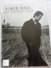 Vince Gill High Lonesome Sound 10 Songs Voice Piano Guitar Unmarked