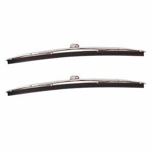 "Wrist Type Wiper Blades 11""  1946 - 1951 Ford Passenger Car 1 Pair 8A-17528"