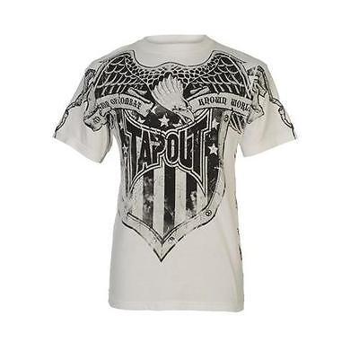 Tapout Jake Shields T - Shirt - Man MMA/UFC - size XL - White