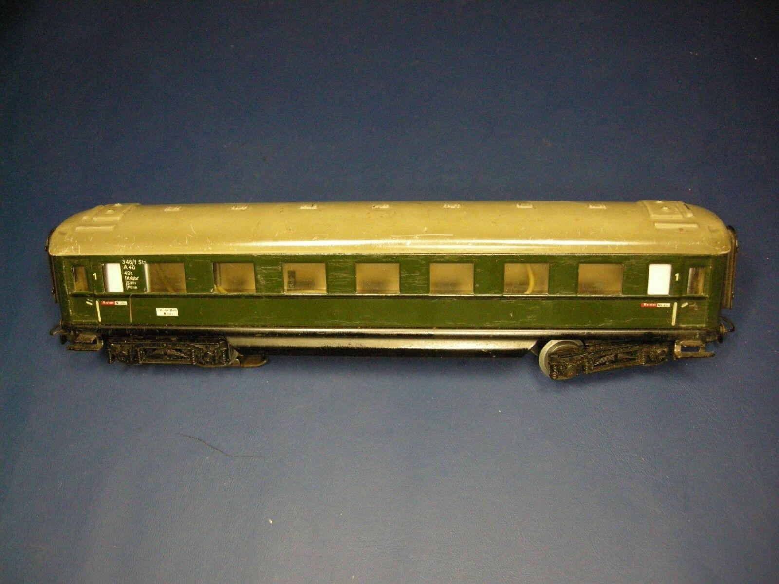 Märklin H0 4006  346 1  A4Ü D-Zug Schürzenwagen 1. Klasse  | Authentisch