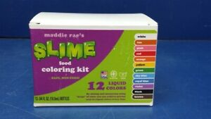 Details about Lot of 2 - Maddie Raes Food Coloring Kit - 12 Color Variety -  Safe, Non-Toxic