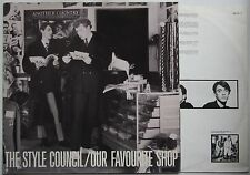 Style Council Our Favourite Shop Ger 1985 LP FOC Weller Jam