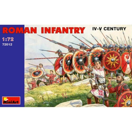 Iii Iv Century Miniart Kit 1:72 MIN72012 Roman Infantry
