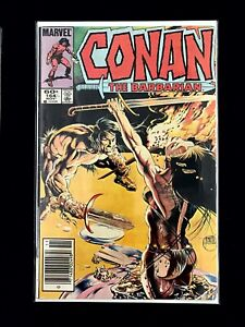 CONAN-THE-BARBARIAN-VOL-1-164-MARVEL-COMICS-1984-VF-NEWSSTAND-EDITION