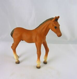 "Dollhouse Miniature Animal Porcelain Horse Colt 1.25/""x1.25/"" #906"