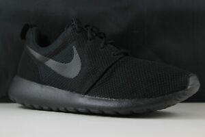 456ce0d5aa19 Nike Roshe One Size 11 Mens Black Black 511881-026 888409511132