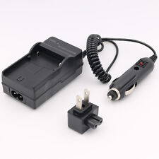 Battery Charger for SONY HDR-CX130 CX160 CX700V CX760V HandyCam Camcorder AC/CAR