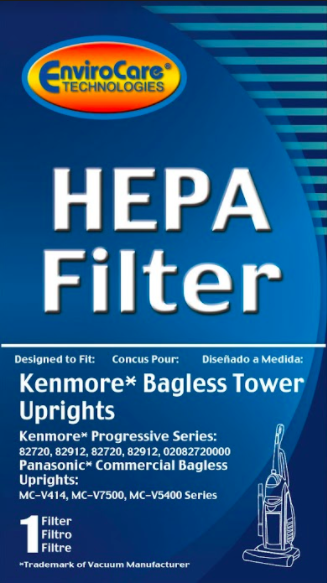 Kenmore Bagless Tower Upright Hepa Filter 82720 82912