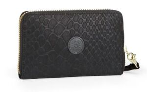 191380e5d Image is loading Kipling-Olvie-Wristlet-Wallet-Purse-Black-Animal-K10625C21