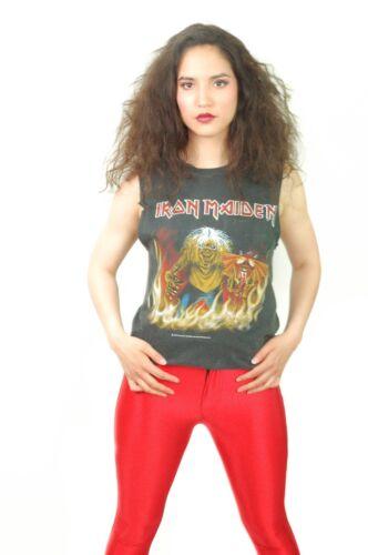 Vintage Iron Maiden Shirt 1983 Concert shirt Iron