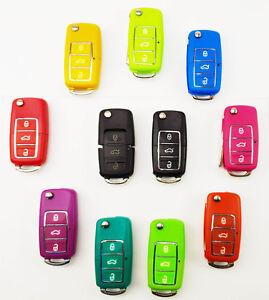 Schlüssel Gehäuse Fernbedienung Klappschlüssel 3 Tasten SOMMER für VW Volkswagen
