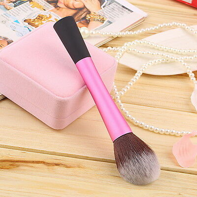 New Synthetic Fiber Cosmetic Powder Blush Foundation Makeup Tapered Brushes IB