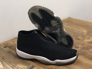 Men s Air Jordan Future Off-Court Black White Metallic Gold 656503 ... 8c76541d5