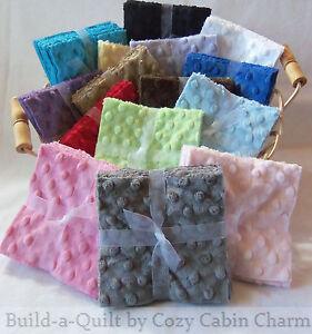 12-5-034-Shannon-Minky-Dot-Precut-Fabric-Squares-17-Color-Choices