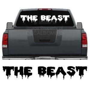 The-Beast-Windshield-Decal-Sticker-Drip1-diesel-turbo-truck-car-lift-45-034-x-7-034