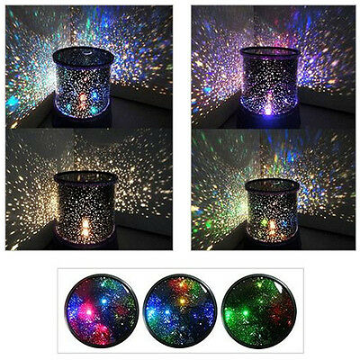 Kids Bedroom Night Starry Lamp Master Projector Sky Star LED Light Gifts