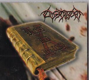 "CD - TOMBTHROAT - BLOODRED HISTORA / DigiPack  "" NEU in OVP VERSCHWEISST #P101#"