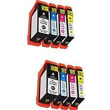 High Yield 8 Ink 31 Black Cyan Magenta Yellow for Dell Printer V525w V725w