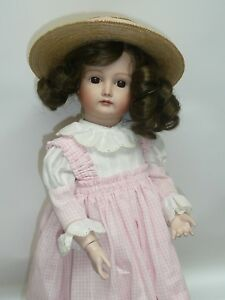 """Reproduction 17"""" Kestner Xii German Bisque Repro By D Szumal On Seeley Bj Body"""