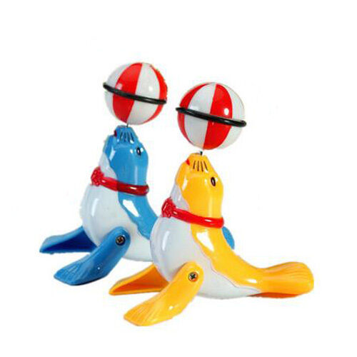 1* Clockwork Cartoon Dolphin Sea Lion Wind-up Toys for Kids Educational Toys New