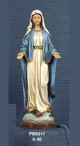 Statua-Madonna-Maria-Immacolata-in-resina-h-40-cm-by-Paben