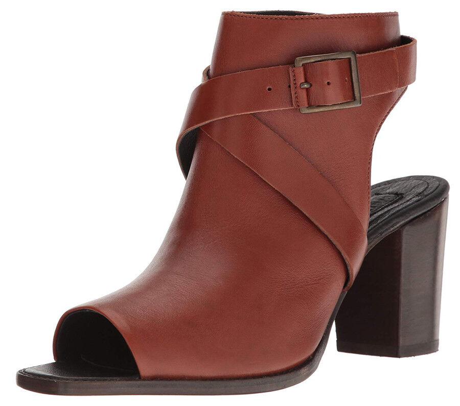 NIB Wolverine Piper Leather Peep Toe Women Sandals Sz. 7  Sz. 8.5