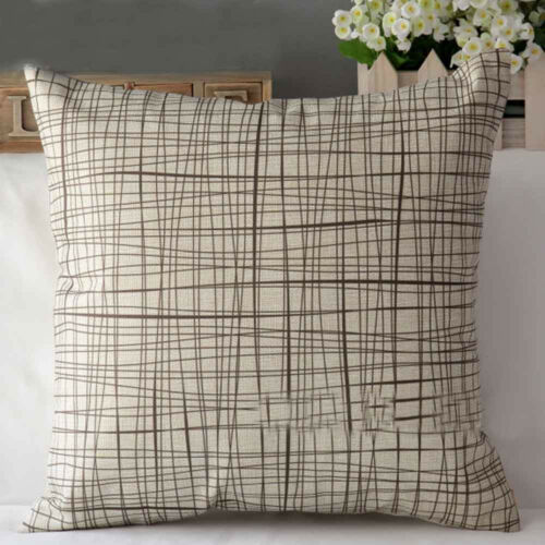 Sofa Bed Home Decoration Linen Blend Festival Throw Pillow Cases Cushion Covers