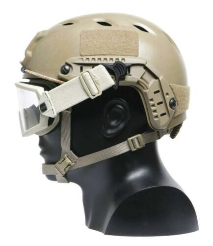 DLP Tactical ARC Accessory Rail for FAST//XP High Cut Combat Helmet NVG bungees