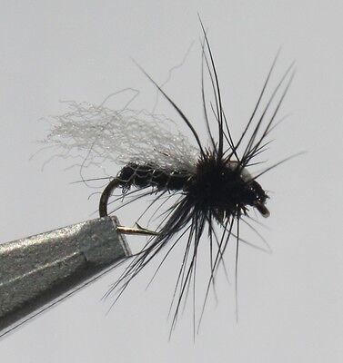 Adult Midge Assortment; 1 Dozen Trout Fishing Flies