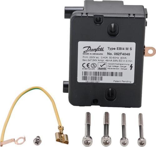 EBI4 MS Zündeinheit Zündtrafo passend für Öl und Gasbrenner diverser Hersteller