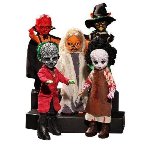 Mezco Juguetez Living Dead Dolls Serie 32 juego completo de 5 figuras nuevo Unopend
