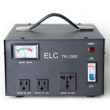 ELC TR-2000 2000 Watt Voltage Regulator Transformer-Step Up/Down (110V/220V)