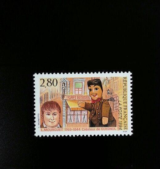 1994 France Laurent Mourguet, Creator of Puppet Scott 2