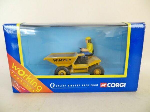 CORGI L=8cm Dumper Truck Wimpey-CONSTRUCTION