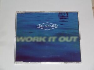 DEF-LEPPARD-WORK-IT-OUT-RARE-UK-3-TRACK-CD-SINGLE-EXCELLENT-COND-1996